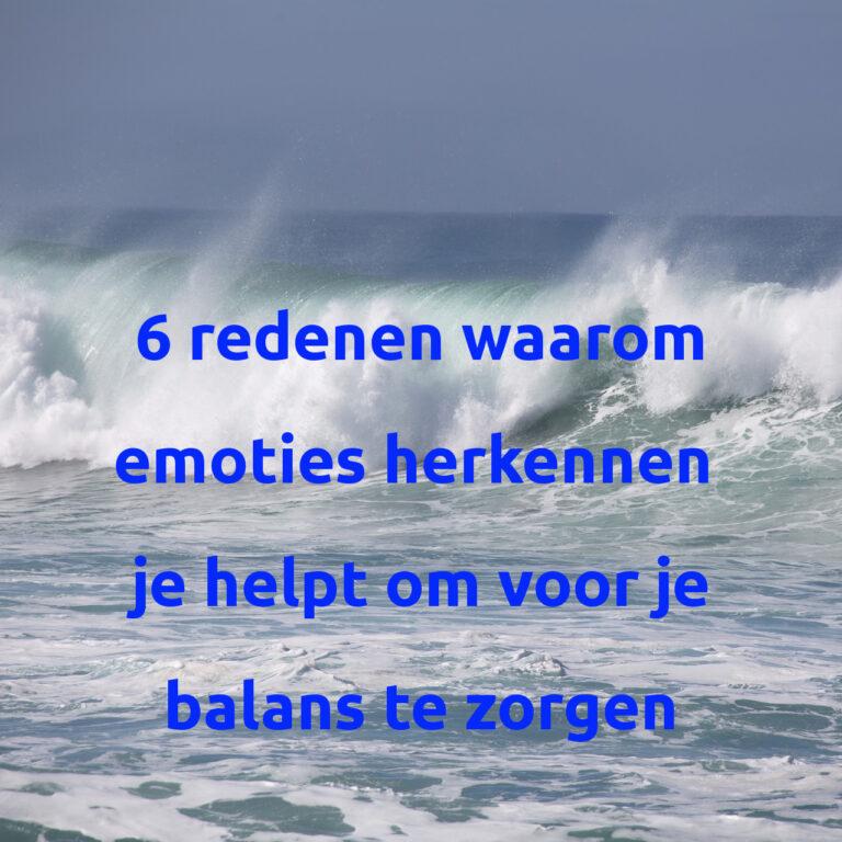 emoties balans